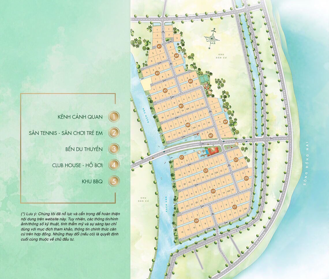 Mặt bằng Dự án Sài Gòn Garden Riverside Village