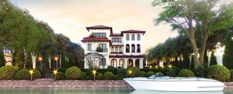 Biệt thự vườn Sài Gòn Garden Riverside Village Quận 9