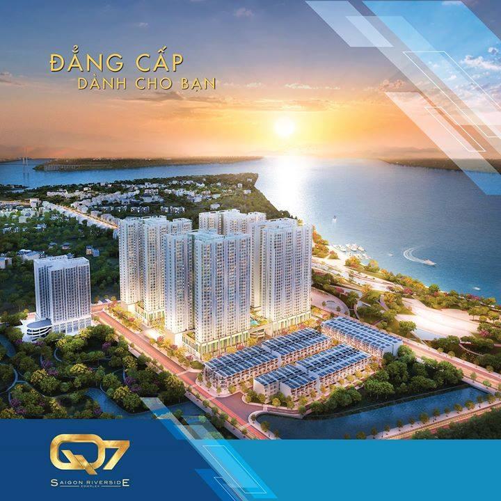Phối cảnh tổng quan Q7 Sài Gòn Riverside Complex