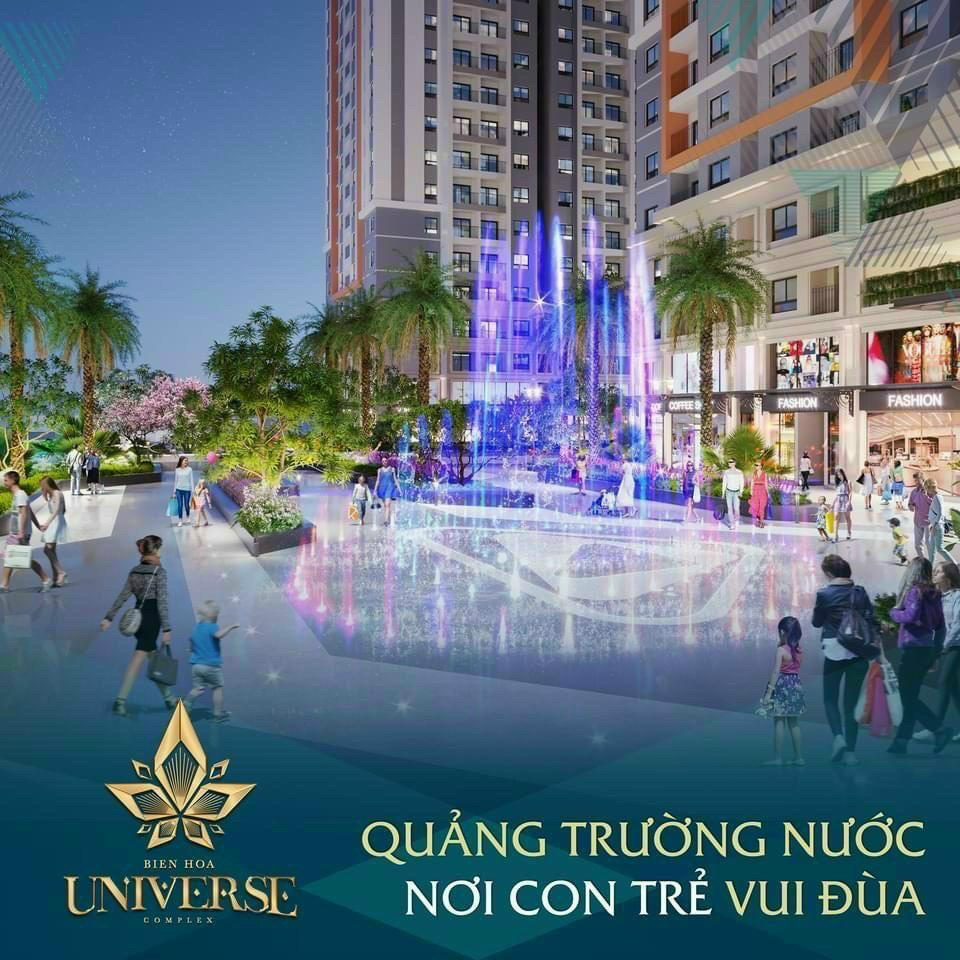Quảng trường nhạc nước Biên Hoà Universe Complex