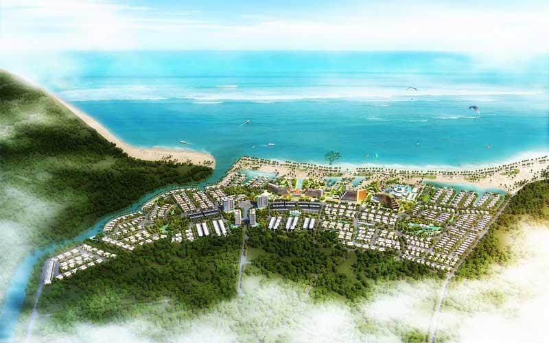 Phối cảnh tổng thể Hải Giang Merry Land Quy Nhơn