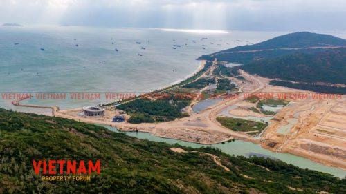 Vị trí Hải Giang Merry Land Quy Nhơn