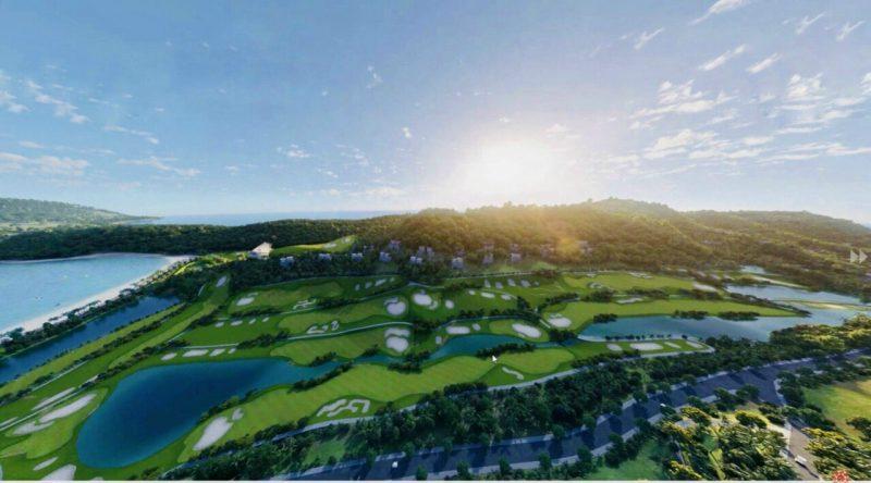 Tiện ích Sân Golf 18 lỗ của Hải Giang Merry Land Quy Nhơn