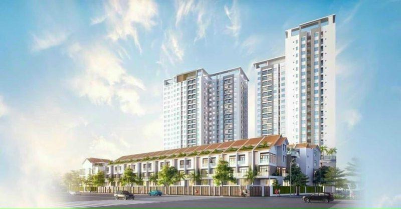 Phối cảnh tổng quan Dự án Richmond Ghềnh Ráng Quy Nhơn - Hưng Thịnh Land