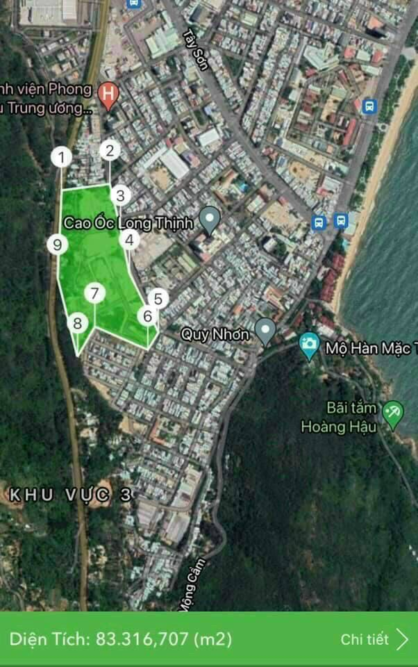 Vị trí Dự án Richmond Quy Nhơn