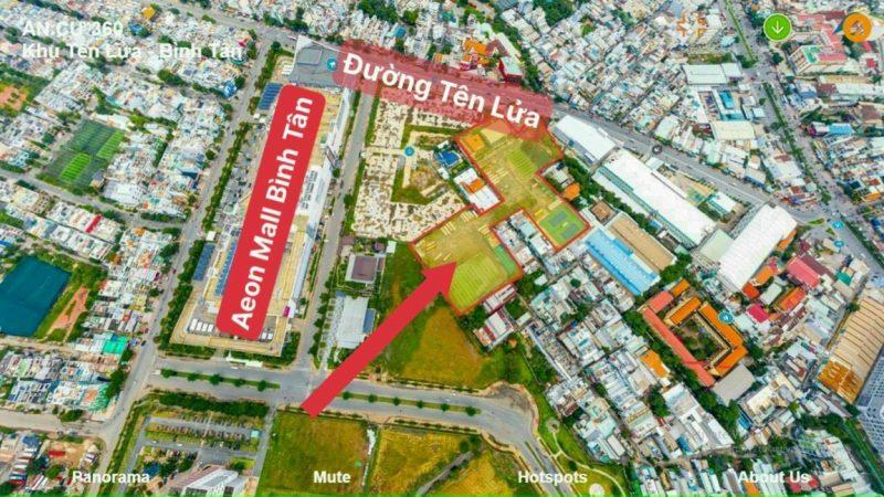 Vị trí dự án Moonlight Centre Point Bình Tân