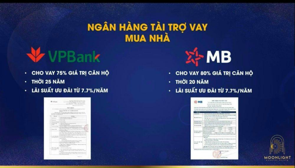 Ngân hàng VP Bank và MB Bank cho vay dự án