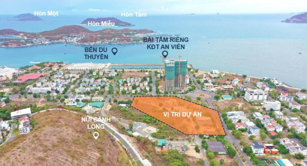 Vị trí căn hộ New Galaxy Nha Trang