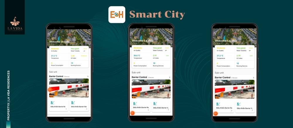 Thiết kế hệ thống Smart City Dự án La Vida Residences Vũng Tàu