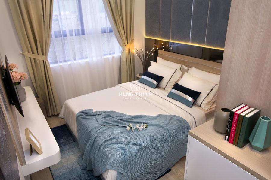 Hình ảnh thực tế căn hộ mẫu 2 phòng ngủ