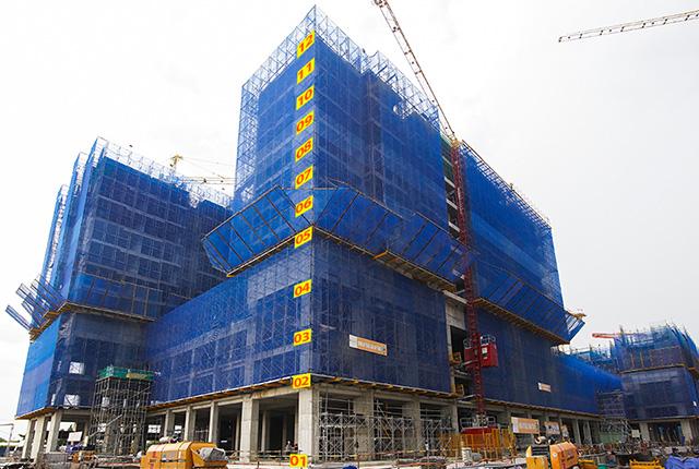 Tiến độ thi công dự án Q7 Sài Gòn Riverside Complex