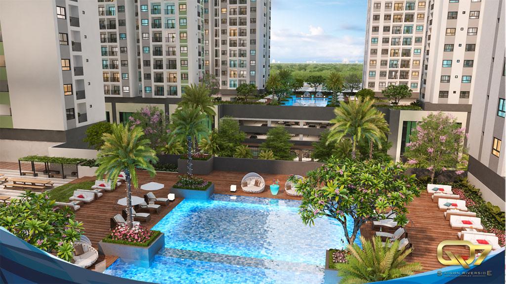 Tiện ích dự án Q7 Sài Gòn Riverside Complex