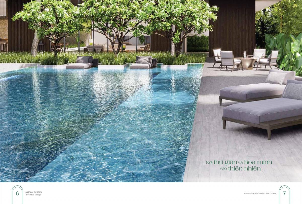 Tiện ích đẳng cấp Dự án Sài Gòn Garden Riverside Village