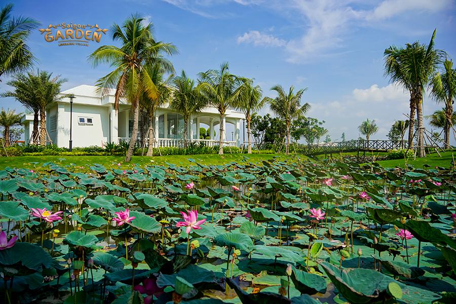 Hình ảnh thực tế Dự án Sài Gòn Garden Riverside Village
