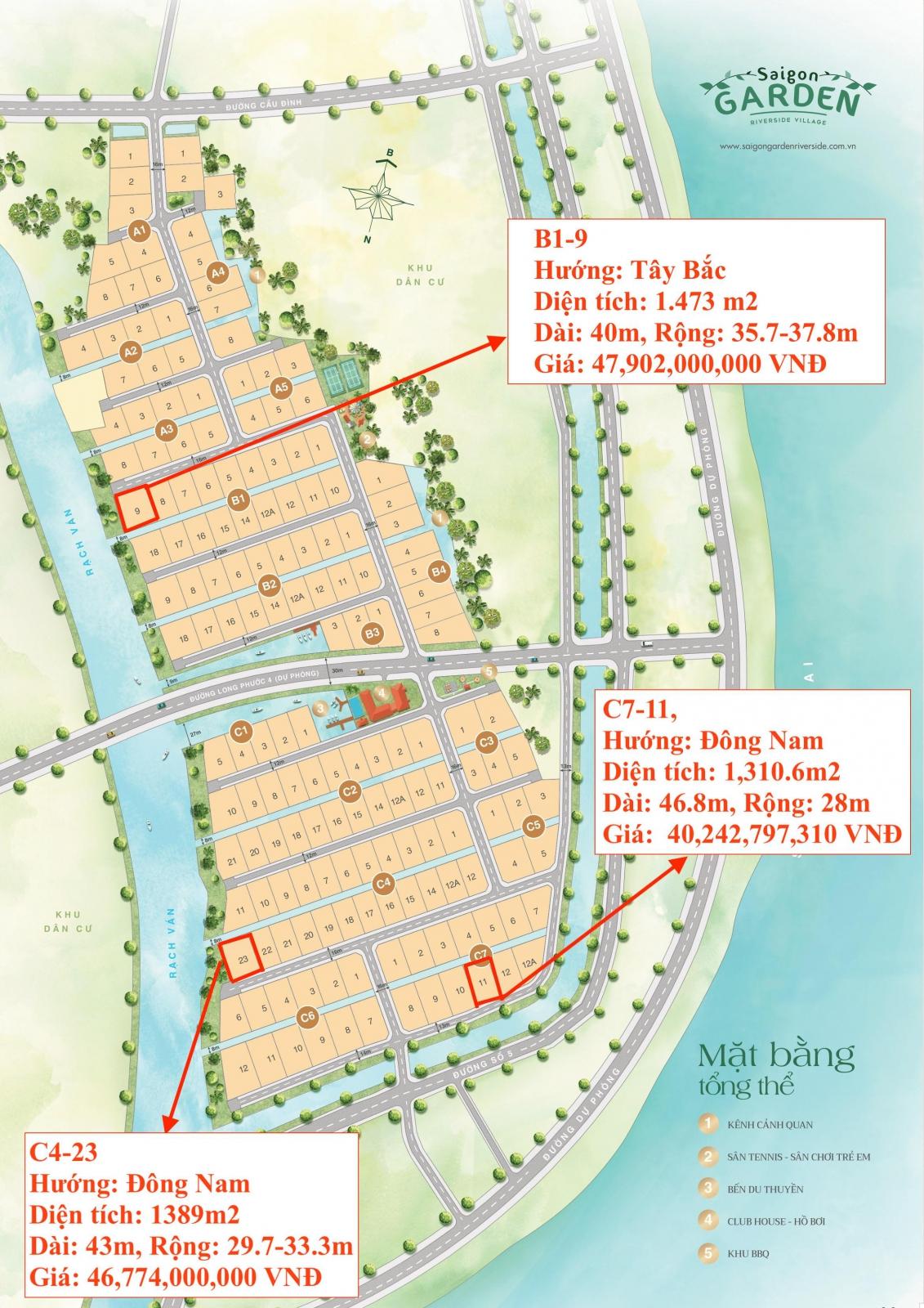 Cập nhật những nền đẹp siêu Vip của Biệt thự Sài Gòn Garden Quận 9