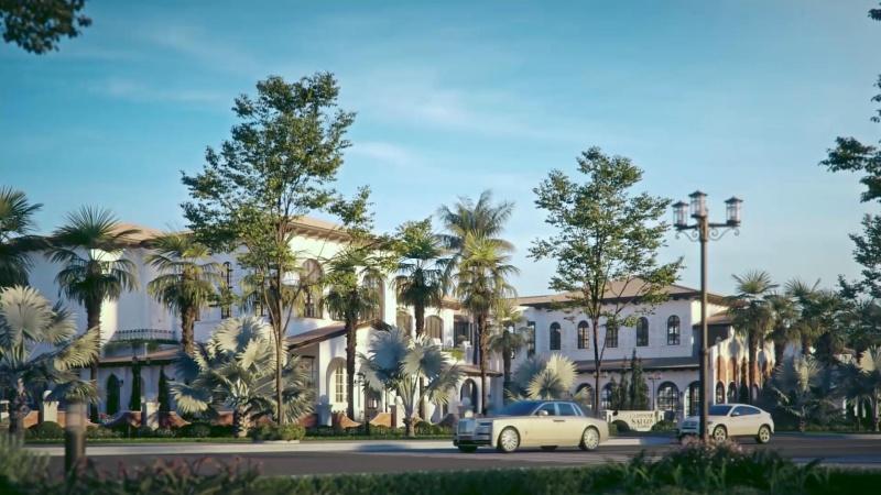 Mẫu biệt thự dự án Sài Gòn Garden Riverside Village